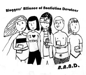 logo for Bloggers' Alliance of Nonfiction Devotees
