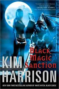 cover of Black Magic Sanction by Kim Harrison