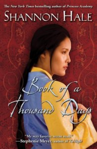 cover of Book of a Thousand Days by Shannon Hale