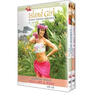 photo of DVDs -- Island Girl Dance Fitness Workout: Cardio Hula/Hula Abs & Buns - 2 Volume Set