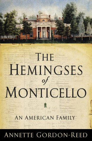 author of The Hemingses of Monticello by Annette Gordon-Reed