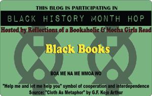 logo for Black History Month Blog Hop -- Black Books