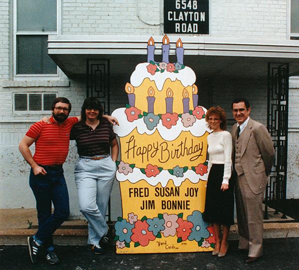 photo of Birthday Cake sign