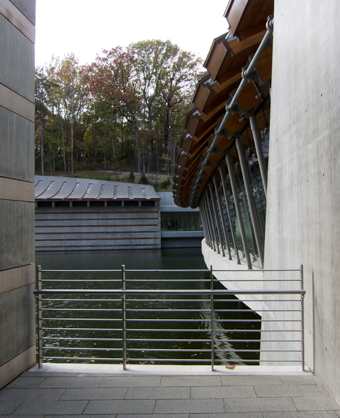 photo of the architecture at Crystal Bridges Museum of American Art