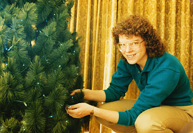 Joy and Christmas Tree