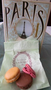 photo of macarons with Paris by Edward Rutherfurd