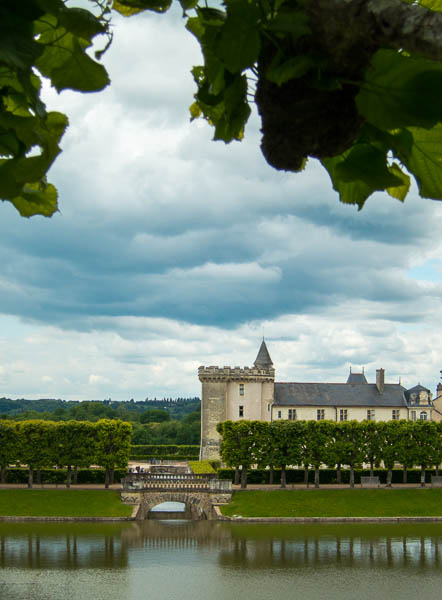 View of Villandry from other side of garden
