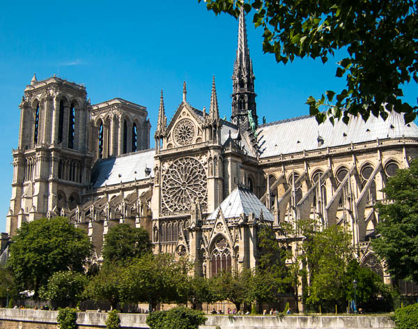photo of the Notre Dame Cathedral