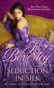 cover of Seduction in Silk by Jo Beverley