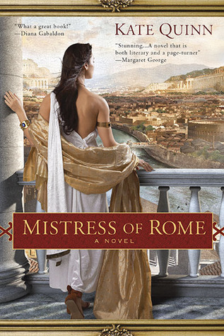 cover of Mistress of Rome by Kate Quinn