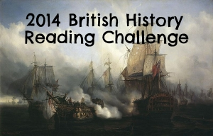logo for 2014 British History Reading Challenge