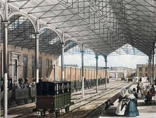 Euston Station 1837