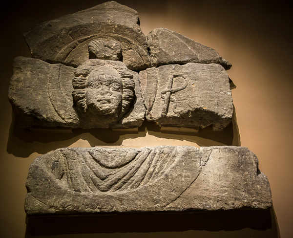 The Goddess Luna, Roman Baths, Bath, England