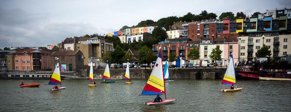 Sailing lesson in Bristol