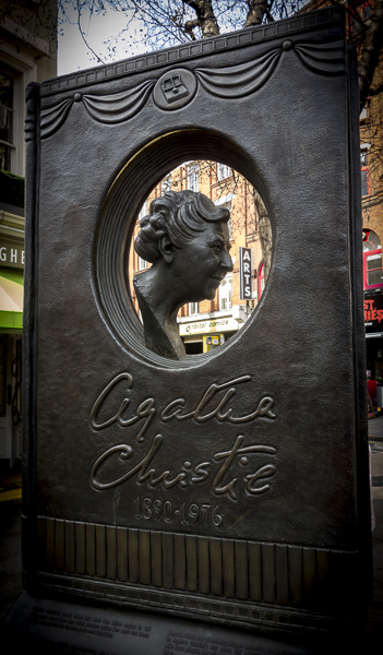 Agatha Christie Memorial, London