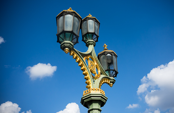Westminster Bridge lamp
