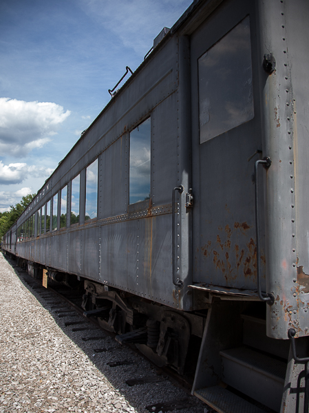 Passenger car of a train