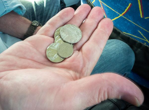 Cuban CUC coins