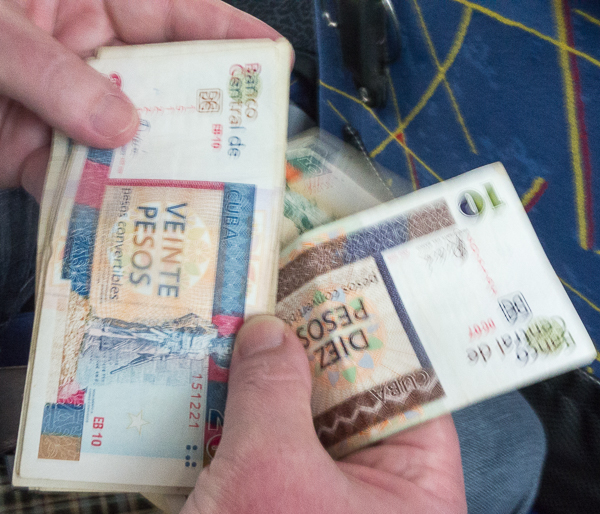 Cuban currency, CUC notes