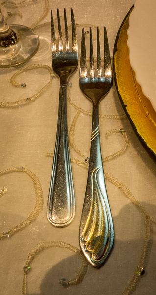 Table ware at Paladar San Cristobal, Havana, Cuba