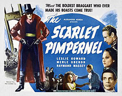 The Scarlet Pimpernel with Leslie Howard