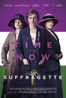 Suffragette, film poster
