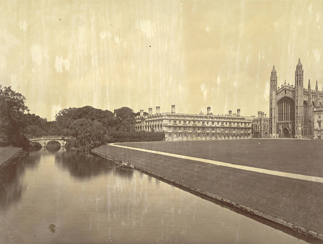 Cambridge. Clare College and King's College