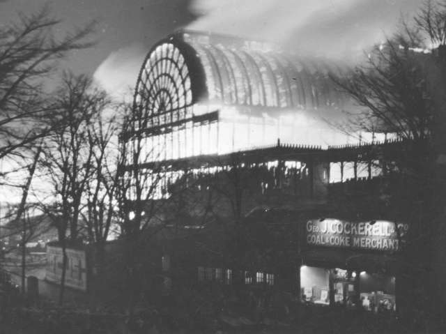 Crystal Palace, 1936 fire
