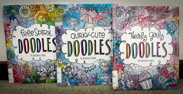 Free Spirit Doodles, Quirky Cute Doodles, and Twirly Girly Doodles by Stephanie Corfee