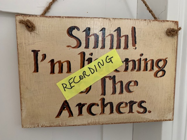 Recording the Archers