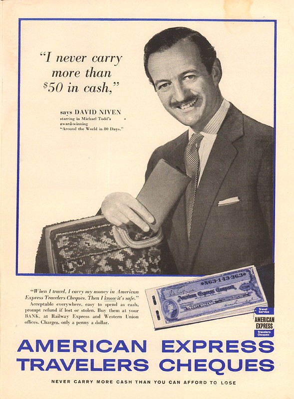American Express Travelers Cheques ad