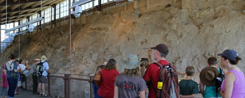 Dinosaur Quarry Wall