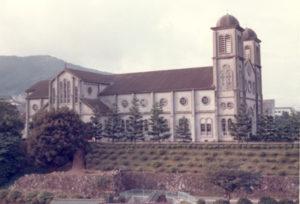 Az 1951-ben újjáépített katedrális