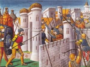 A keresztesek beveszik Konstantinápolyt 1204-ben