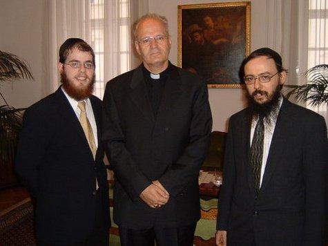 Erdő Péter a rabbikkal
