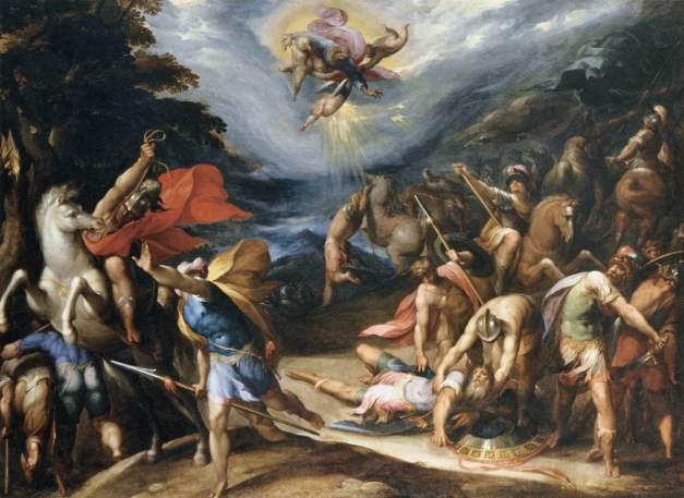 Hans Speckaert: Saul megtérése a damszkuszi úton