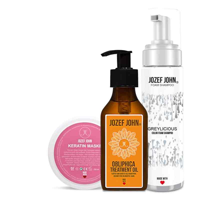 Jozef John Hair Care Produkte Collage