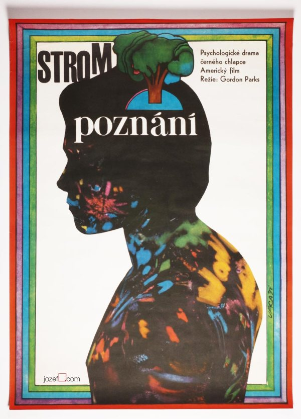 Vintage Movie Poster Learning Tree 70s Art
