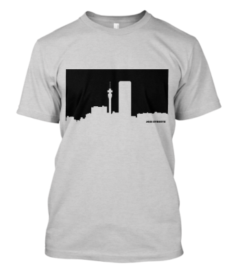 Jozi Streets Light Grey T-shirt