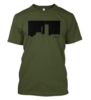 Jozi Streets T-shirt in Olive and Black