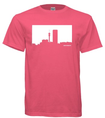 Johannesburg T-shirt Skyline