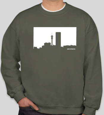 Jozi Streets Sweater Military Green