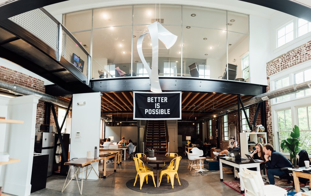 Modern Office for Sustainable Workforce