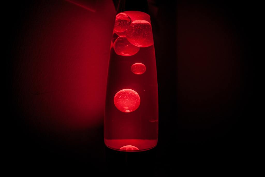 Lava Lamp — reflecting the model of employee wellness and wellbeing promoted by employee well-being consultant Bob Merberg