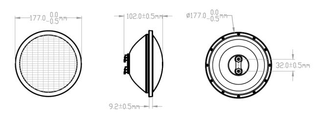 JP-PL-18X1W-C LED Swimming Pool Light PAR56 Pool Light