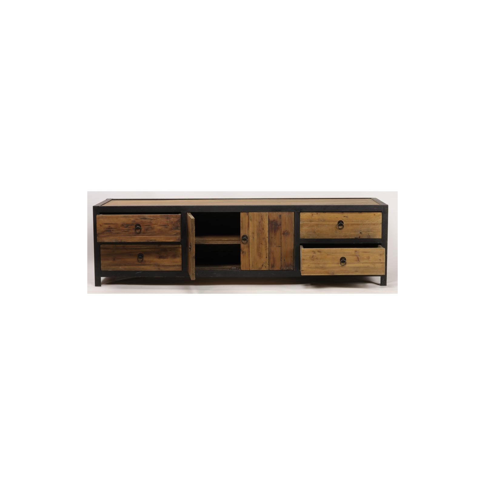 meuble tv industriel jp2b decoration