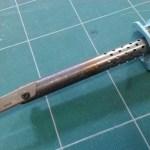 ハンダゴテを使ったホットナイフ-その1
