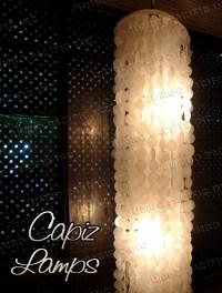 Capiz Chandelier Lamps Wind Chimes Philippine Home Decor ...
