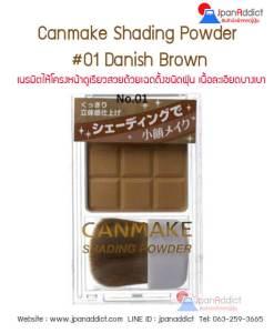 Canmake Shading Powder 01
