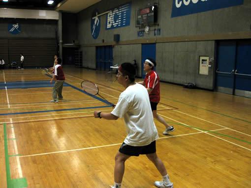 BCIT Badminton Tournament 1